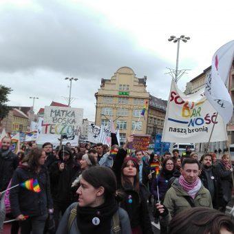 Street March Wroclaw